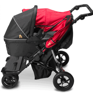 Nipper Double Carrycot Adapter 1