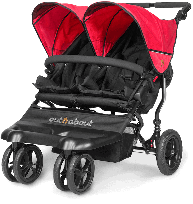 Raincover Compatible with Out N About Nipper Double Twin Pushchair