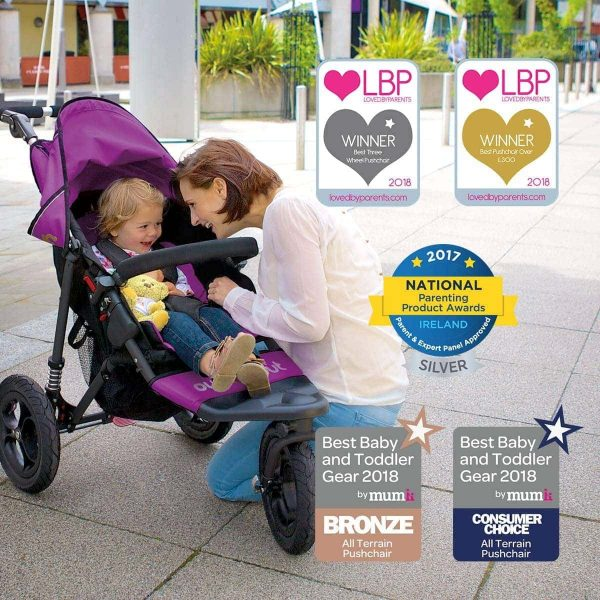 Nipper Single with Five Awards including gold best pushchair under £300