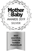 Mother Baby 2019 Silver Pushchair