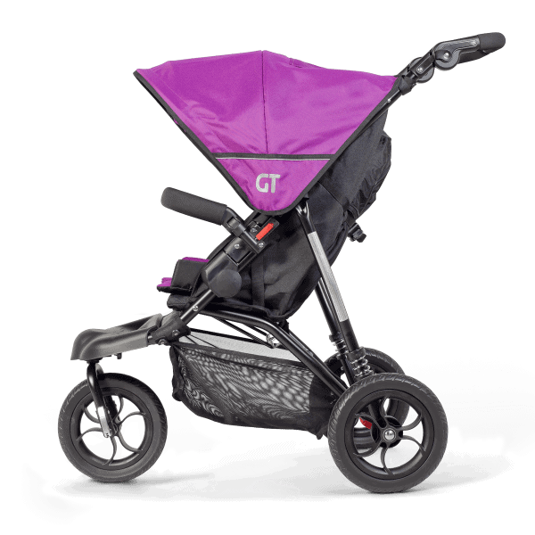 Out'n'About GT Buggy Side view in Purple Punch