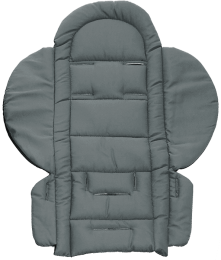 1809 Quilted Seat Liner Grey 700